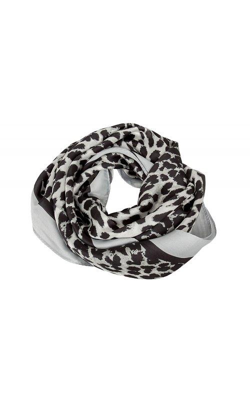 Серый платок с принтом Anna Pepe AP 2363