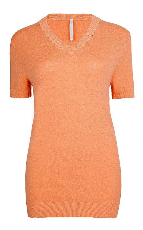 Оранжевый джемпер с V-образным вырезом IMPERIAL M8781604VM