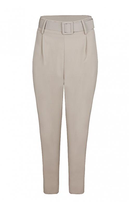 Бежевые брюки с поясом RINASCIMENTO 92178