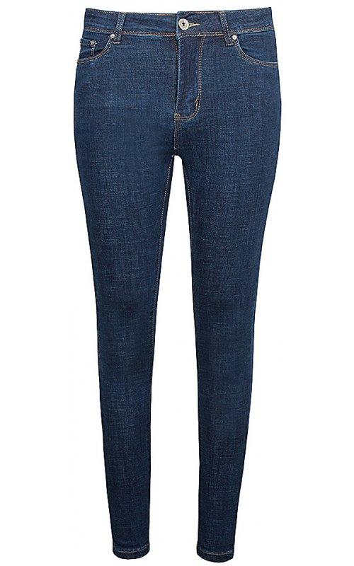 Женские зауженные синие джинсы Anna Pepe AP 6371
