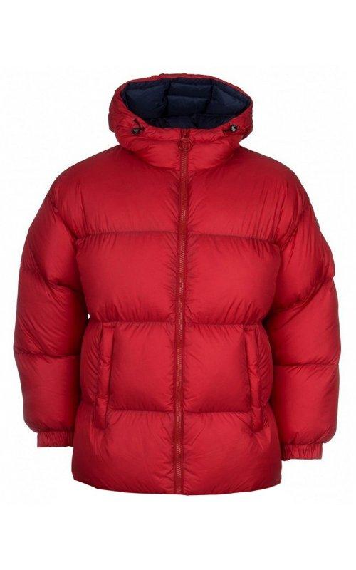 Красный женский пуховик Colmar CR9101