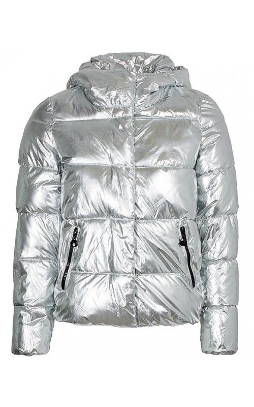Куртка серебристого цвета FLY F 1955