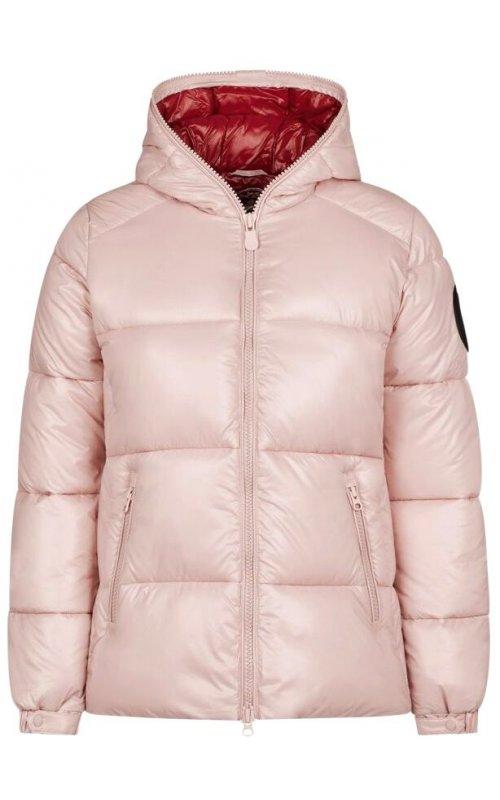 Розовая куртка с капюшоном SAVE THE DUCK SD 3809