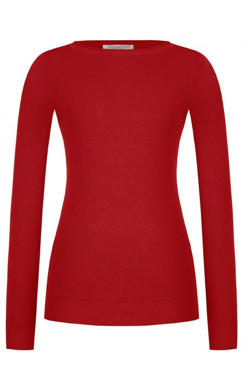 Джемпер красного цвета RINASCIMENTO 9238