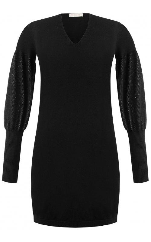 Платье с объемными рукавами на широком манжете RINASCIMENTO 95808
