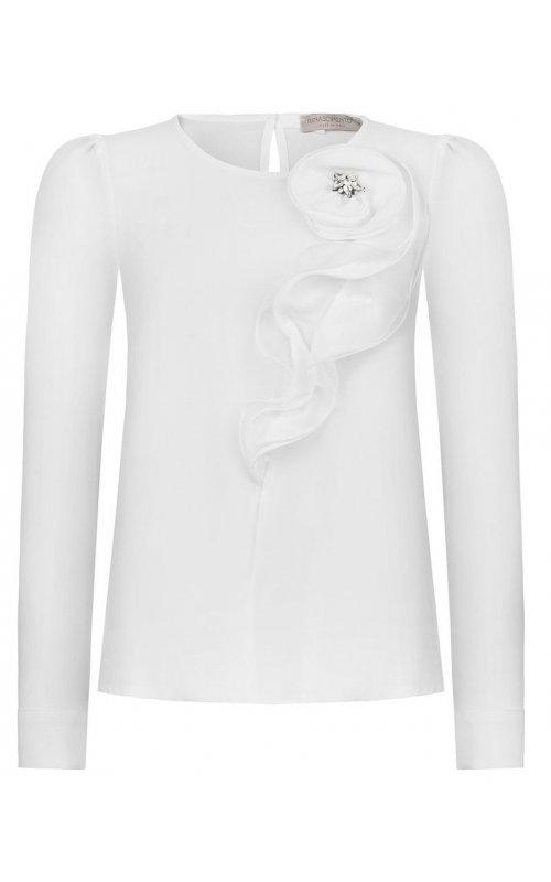 Белая блуза в декором RINASCIMENTO 91298