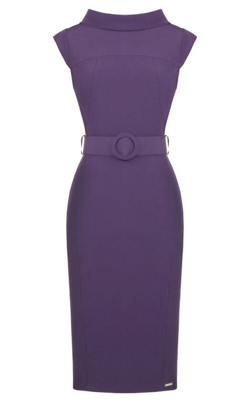 Стильное фиолетовое платье RINASCIMENTO 88251