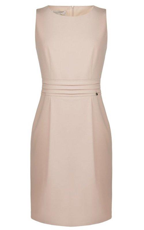 Стильное розовое платье RINASCIMENTO 91625