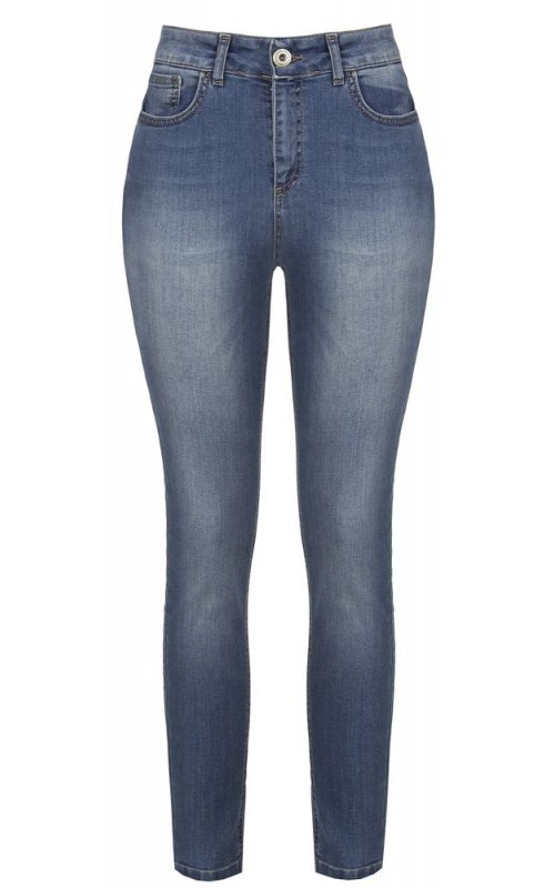 Голубые зауженные джинсы RINASCIMENTO 90952