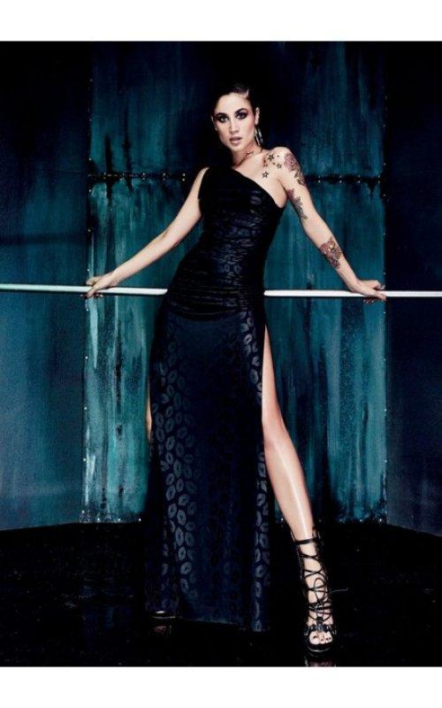 Платье с разрезом DENNY ROSE 52DR12025