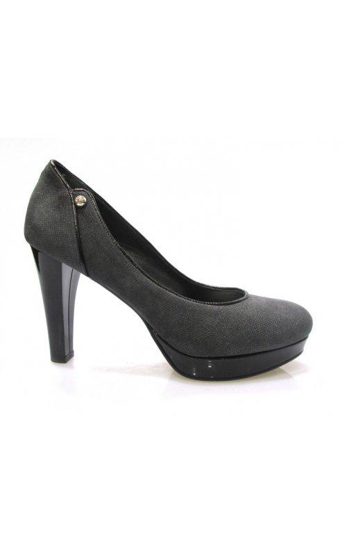 Замшевые туфли Gilda Tonelli 2235 PUN.GRI/VERN.NE
