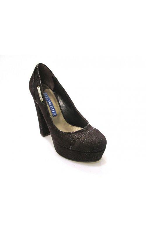 Замшевые туфли Gilda Tonelli 2311 FIO.RIAL.TM